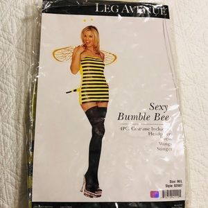 Leg Avenue Sexy Bee Costume M/L NWT